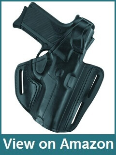 Gould & Goodrich Three Slot Pancake Holster for Glock 17