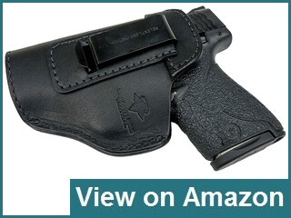 Relentless Tactical Leather IWB Holster for Glock 19