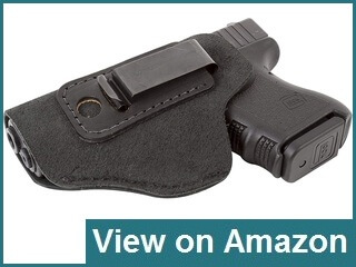 Relentless Tactical Suede Leather IWB Holster