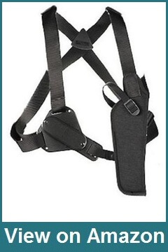 Uncle Mike's Black Kodra Vertical Shoulder Holster