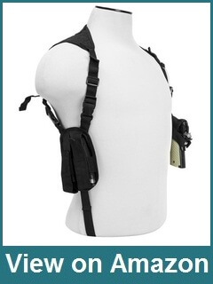 VISM by NcStar Ambidextrous Horizontal Shoulder Holster