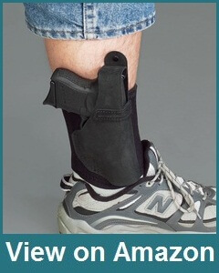 Galco Ankle Lite Holster for Ruger LCR