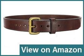 Daltech Force Bull Hide CCW Leather Gun Belt