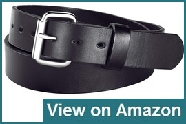 GritGuts Concealed Carry Thick Leather Gun Belt