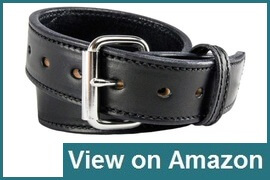 Relentless Tactical CCW Leather Gun Belt