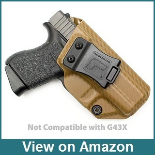 Tulster Glock 43 Appendix Carry Holster Review