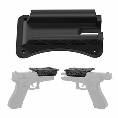 OYSIN Gun Magnet Mount, Gun Magnetic Holder for Bumpy and Tough Terrain, Car Concealed Holster for Truck, Wall, Vehicle,Cabinet