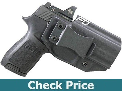 Fierce Defender IWB Kydex Holster for Sig P320c RX w/Optic