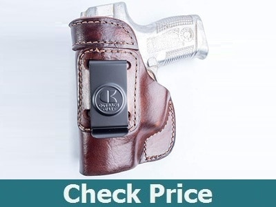 OutBags USA IWB Leather Holster for Taurus Millennium PT111 PT140 G2 G2C G2S TH9C