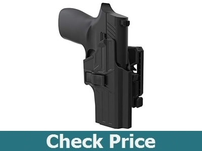 TEGE Sig P320 Compact OWB Holster Also Fit P320 RX P320 X Carry