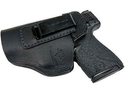 Relentless Tactical The Defender Leather IWB Holster for Glock 19