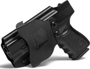 Concealment Express OWB Paddle KYDEX Holster (Black)