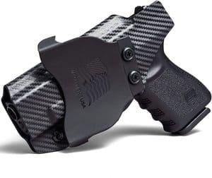 Concealment Express OWB Paddle KYDEX Holster (Carbon Fiber Black)