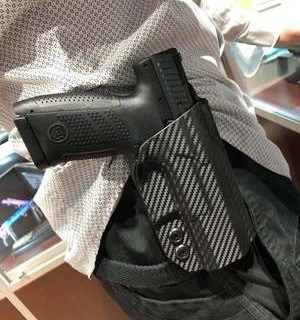 Concealment Express IWB Holster Carry Location